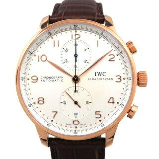 finest selection b3329 675a5 IWC IWC ポルトギーゼ クロノグラフ IW371480 シルバー文字盤 メンズ 腕時計 【新品】|株式会社ジェムキャッスルゆきざき