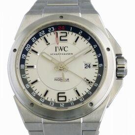 【ポイントバックセール 3%ポイント還元】 IWC IWC インヂュニア デュアルタイム IW324404 ホワイト文字盤 メンズ 腕時計 【新品】
