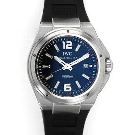 【ポイントバックセール 3%ポイント還元】 IWC IWC インヂュニア オートマチック ミッションアース IW323601 ブラック文字盤 メンズ 腕時計 【中古】