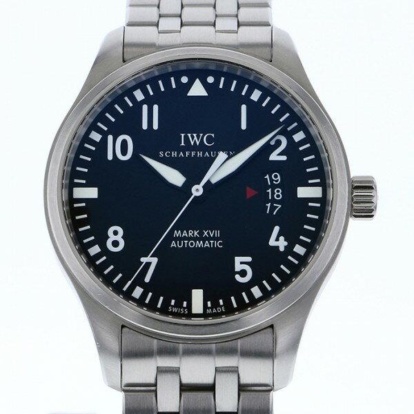 IWC IWC パイロットウォッチ マーク17 IW326504 ブラック文字盤 メンズ 腕時計 【中古】