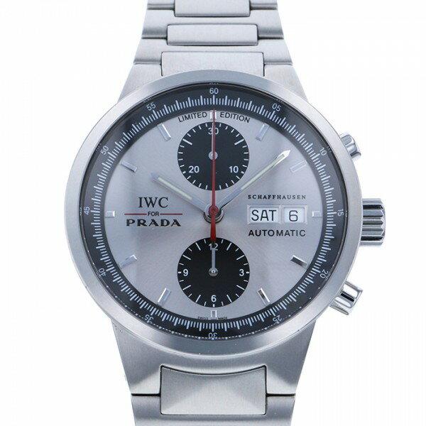 IWC IWC GSTクロノ PRADA 世界限定2000本 IW370802 シルバー文字盤 メンズ 腕時計 【中古】
