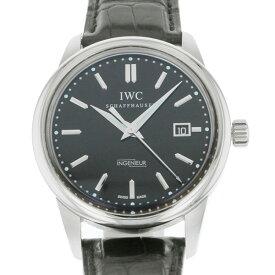 【ポイントバックセール 3%ポイント還元】 IWC IWC インヂュニア ヴィンテージ インジュニア IW323301 ブラック文字盤 メンズ 腕時計 【中古】