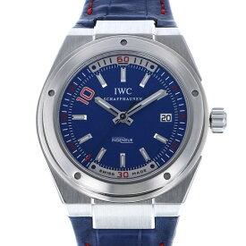 【ポイントバックセール 3%ポイント還元】 IWC IWC インヂュニア ジネディーヌ・ジダン 世界限定1000本 IW323403 Dブルー文字盤 メンズ 腕時計 【中古】