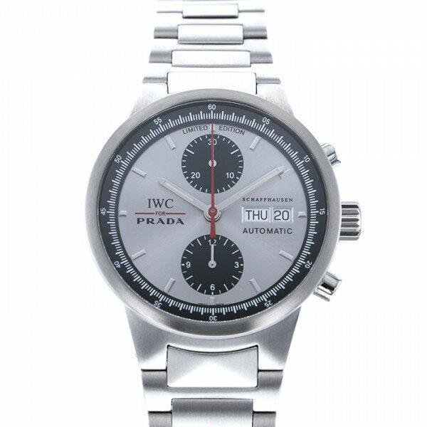 IWC IWC その他 GSTクロノ PRADA 世界限定2000本 IW370802 シルバー文字盤 メンズ 腕時計 【中古】