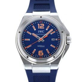 【ポイントバックセール 3%ポイント還元】 IWC IWC インヂュニア オートマティック アドベンチャー エコロジー IW323603 ブルー文字盤 メンズ 腕時計 【中古】