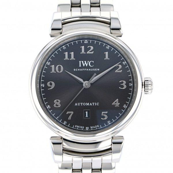 IWC IWC ダ・ヴィンチ IW356602 グレー文字盤 メンズ 腕時計 【中古】