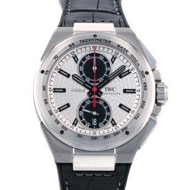 【ポイントバックセール 3%ポイント還元】 IWC IWC インヂュニア クロノグラフ ジルバープファイル リミテッド IW378505 シルバー/ブラック文字盤 メンズ 腕時計 【中古】