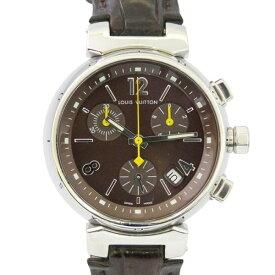 92dfa2742b0c ルイ・ヴィトン LOUIS VUITTON その他 タンブール クロノグラフ Q1321 ブラウン文字盤 メンズ 腕時計 【