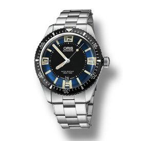 【ポイントバックセール 3%ポイント還元】 オリス ORIS ダイバーズ 65 733 7707 4035M ブラック文字盤 メンズ 腕時計 【新品】