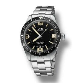 【ポイントバックセール 3%ポイント還元】 オリス ORIS ダイバーズ 65 733 7707 4064M ブラック文字盤 メンズ 腕時計 【新品】
