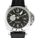 パネライ PANERAI ルミノールGMT PAM00088 ブラック文字盤 メンズ 腕時計 中古