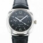 パネライ PANERAI ラジオミール 10デイズ GMT オロビアンコ 世界限定250本 PAM00496 ブラック文字盤 中古 腕時計 メンズ