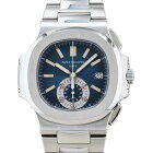 パテック・フィリップ PATEK PHILIPPE ノーチラス クロノグラフ 5980/1A-001 ブルー文字盤 中古 腕時計 メンズ