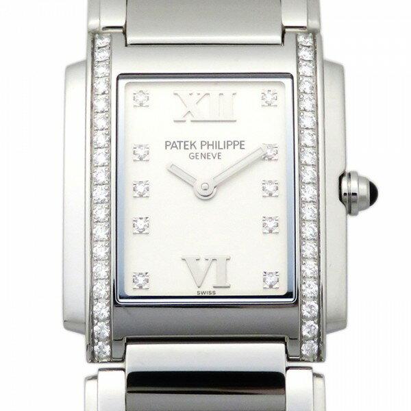 パテック フィリップ PATEK PHILIPPE Twenty-4 4910/10A-011 ホワイト文字盤 レディース 腕時計 【新品】