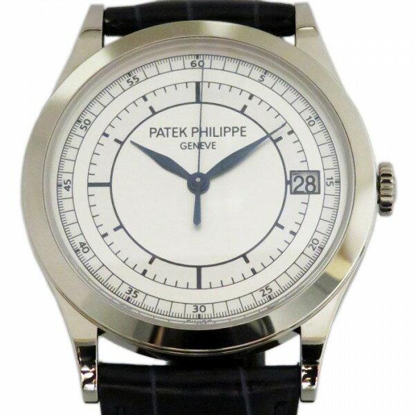 パテック フィリップ PATEK PHILIPPE カラトラバ 5296G-001 ホワイト文字盤 メンズ 腕時計 【新品】