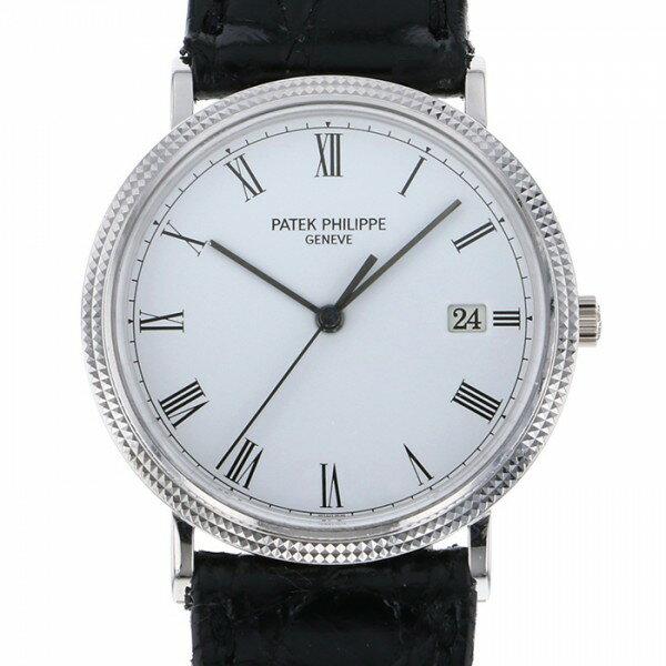 パテック・フィリップ PATEK PHILIPPE カラトラバ 3944G ホワイト文字盤 メンズ 腕時計 【中古】