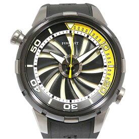 【ポイントバックセール 3%ポイント還元】 ペルレ PERRELET その他 タービン ダイバー A1067/2 ブラック文字盤 メンズ 腕時計 【中古】