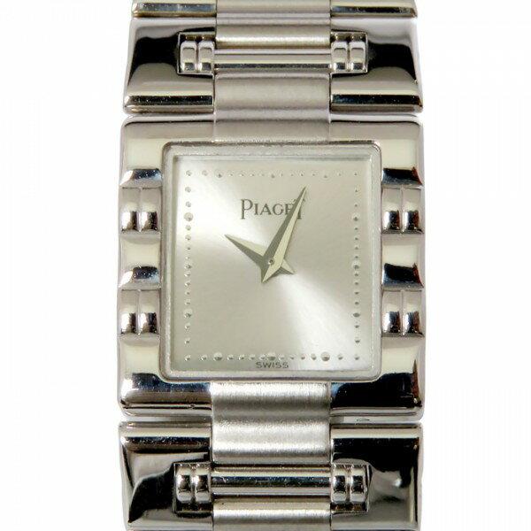 ピアジェ PIAGET その他 ダンサー スクエア 15317 シルバー文字盤 レディース 腕時計 【中古】