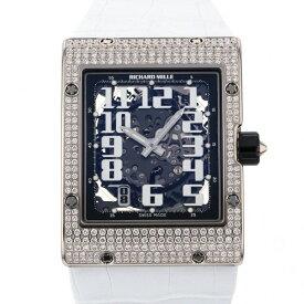 リシャール・ミル RICHARD MILLE エクストラフラット スケルトン RM016 シルバー文字盤 新品 腕時計 メンズ