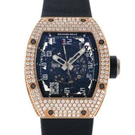 リシャール・ミル RICHARD MILLE RM010 AG RG ブラック文字盤 未使用 腕時計 メンズ
