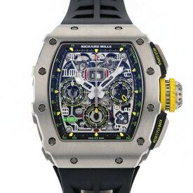 リシャール・ミル RICHARD MILLE RM11-03 TI シルバー文字盤 中古 腕時計 メンズ