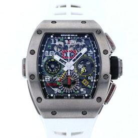リシャール・ミル RICHARD MILLE オートマティック フライバッククロノグラフ デュアルタイム RM11-02 グレー文字盤 中古 腕時計 メンズ