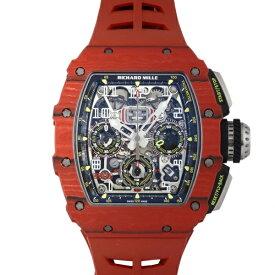 リシャール・ミル RICHARD MILLE レッドクォーツ RM11-03 FQ TPT シルバー文字盤 新古品 腕時計 メンズ