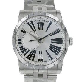 【ポイントバックセール 3%ポイント還元】 ロジェ・デュブイ ROGER DUBUIS エクスカリバー RDDBEX0448 シルバー文字盤 メンズ 腕時計 【新品】