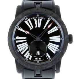 【ポイントバックセール 3%ポイント還元】 ロジェ・デュブイ ROGER DUBUIS エクスカリバー 42 オートマティック カーボン RDDBEX0510 ブラック文字盤 メンズ 腕時計 【新品】