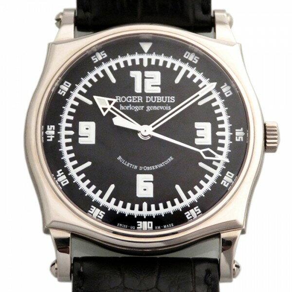 ロジェ・デュブイ ROGER DUBUIS シンパシー ブラック文字盤 メンズ 腕時計 【新品】