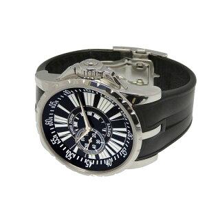 ロジェ・デュブイROGERDUBUISエクスカリバーEX457799.71Rブラック文字盤メンズ腕時計【中古】