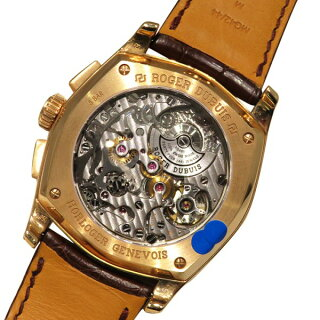 ロジェ・デュブイROGERDUBUISモネガスクマイクロロータークロノグラフRDDBMG0008ホワイト文字盤新品腕時計メンズ