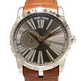 【ポイントバックセール 3%ポイント還元】 ロジェ・デュブイ ROGER DUBUIS エクスカリバー 42 マイクロローター オートマティック RDDBEX0353 グレー文字盤 メンズ 腕時計 【新品】