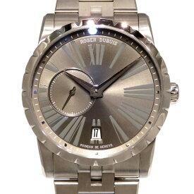 【ポイントバックセール 3%ポイント還元】 ロジェ・デュブイ ROGER DUBUIS エクスカリバー 42 マイクロローター オートマティック RDDBEX0449 グレー文字盤 メンズ 腕時計 【新品】