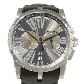 【ポイントバックセール 3%ポイント還元】 ロジェ・デュブイ ROGER DUBUIS エクスカリバー 42 マイクロローター クロノグラフ RDDBEX0387 グレー文字盤 メンズ 腕時計 【新品】