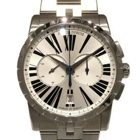 【ポイントバックセール 3%ポイント還元】 ロジェ・デュブイ ROGER DUBUIS エクスカリバー マイクロローター クロノグラフ オートマティック RDDBEX0451 シルバー文字盤 メンズ 腕時計 【新品】