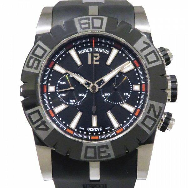 ロジェ・デュブイ ROGER DUBUIS イージーダイバー 世界限定888本 RDDBSE0282 ブラック文字盤 メンズ 腕時計 【新品】