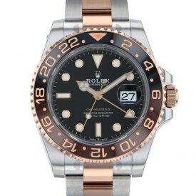 ロレックス ROLEX GMTマスター II 126711CHNR ブラック文字盤 新品 腕時計 メンズ