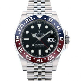 ロレックス ROLEX GMTマスター II 126710BLRO ブラック文字盤 新品 腕時計 メンズ