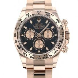 ロレックス ROLEX デイトナ 116505 ブラック/ピンク文字盤 新品 腕時計 メンズ
