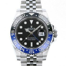 ロレックス ROLEX GMTマスター II 126710BLNR ブラック文字盤 新品 腕時計 メンズ