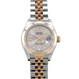 ロレックス ROLEX デイトジャスト 28 279171G サンダスト(IXダイヤ)文字盤 新品 腕時計 レディース