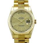 ロレックス ROLEX デイデイト 18248 シャンパン文字盤 中古 腕時計 メンズ