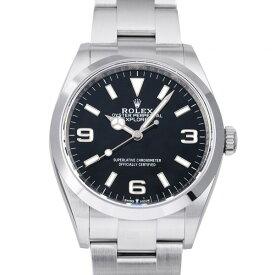 【最大5万円OFFクーポン!10/15~】 ロレックス ROLEX エクスプローラー 124270 ブラック文字盤 新品 腕時計 メンズ