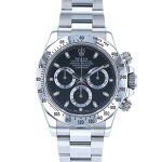 ロレックスROLEXデイトナ116520ブラック文字盤メンズ腕時計【中古】