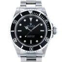 【限定 ポイント10倍 3/21〜】ロレックス ROLEX サブマリーナ 14060 ブラック文字盤 メンズ 腕時計 【中古】