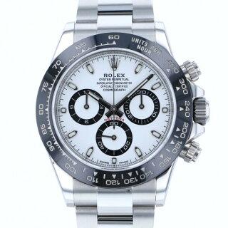 ロレックスROLEXデイトナ116500LNホワイト文字盤メンズ腕時計【中古】