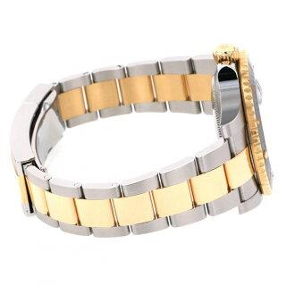 ロレックスROLEXサブマリーナデイト116613LNブラック文字盤メンズ腕時計【中古】