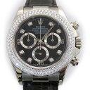 ロレックス ROLEX デイトナ 116589RBRG ブラック文字盤 メンズ 腕時計 【中古】