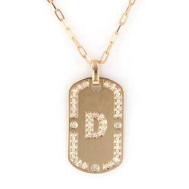 サマンサティアラ ピンクゴールド ダイヤモンド D ネックレス/ペンダント K18PG 中古